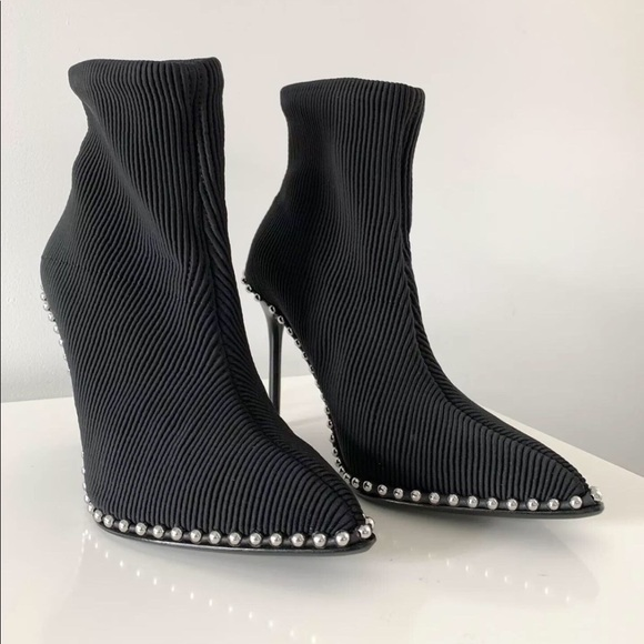 be15ae49e22 Authentic Alexander Wang Eri Studded Bootie